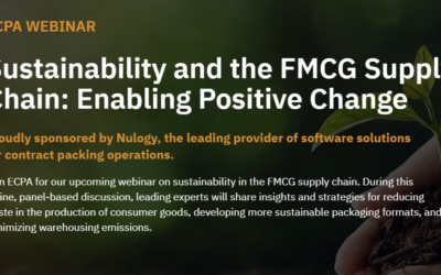 ECPA webinar: Sustainability and the FMCG Supply Chain: Enabling Positive Change